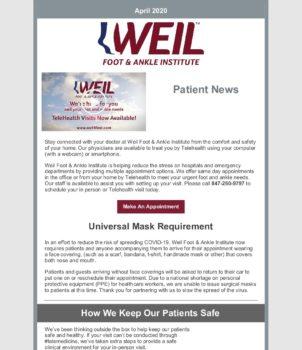 WFAI Patient Newsletter – April 2020