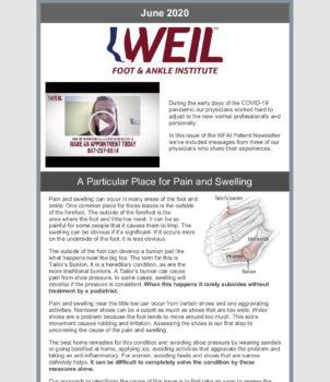 WFAI Patient Newsletter – June 2020