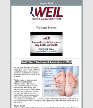 WFAI Patient Newsletter – August 2020